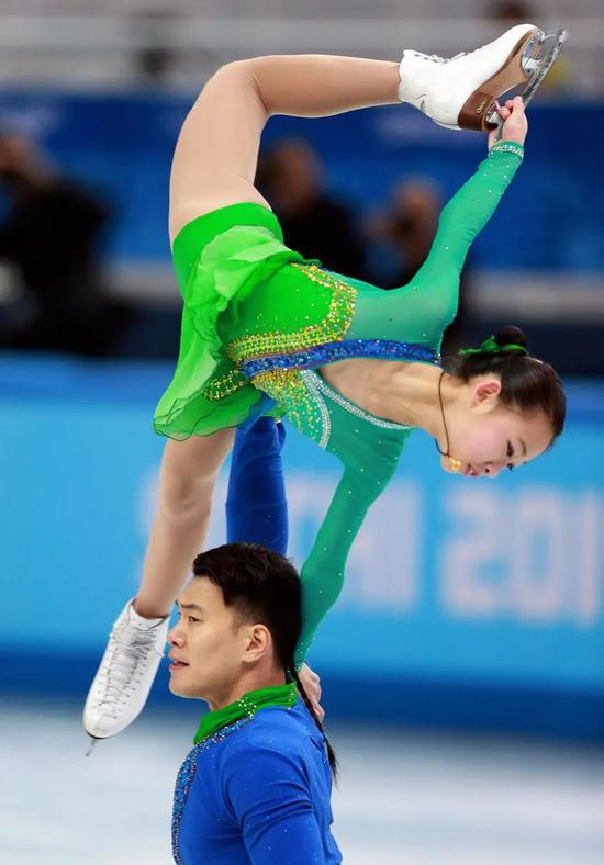 彭程/张昊在2014年索契冬奥会