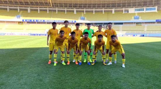 邀请赛-周俊辰一传一射 U20国足2-1东欧豪门二队