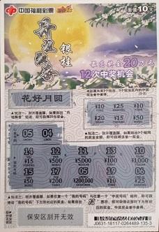 三小伙聯手擒福彩刮刮樂20萬 合買整包中獎率高