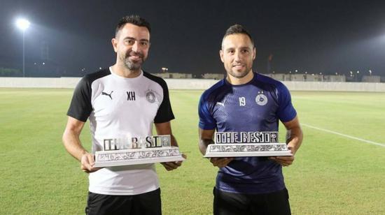 哈维卡索拉获卡塔尔联赛九月十月最佳教练和球员