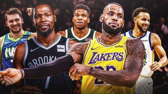NBA正式迎来75周年:太多经典瞬间+新力量崛起