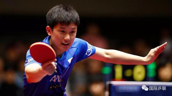 本期我们请来日本选手张本智和!
