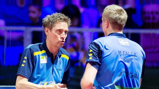 瑞典乒坛常青树成功上位长远目标为击败中国男乒