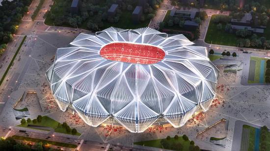 恒大新球场22年前投入使用 多位大师设计惊艳世界
