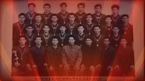 1965年第二届全运会天津队代表河北省夺冠。