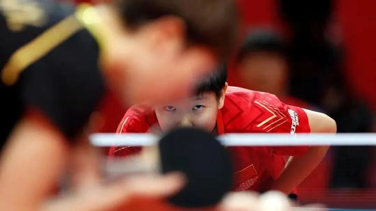 孙颖莎加冕奥运模拟赛双冠王 是对自己训练的肯定