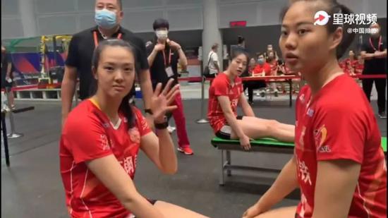 女排全锦赛正式开打之前 天津女排先拿了个第一!