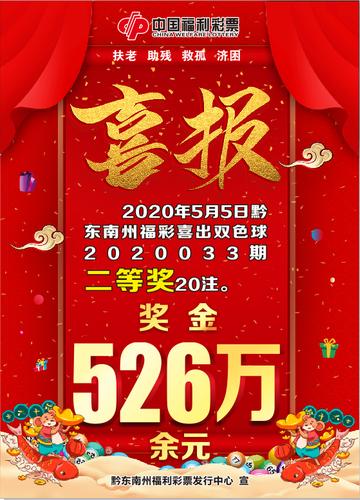 小鎮爆雙色球20注二等526萬 店主:大獎得主是游客