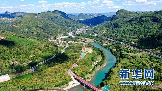 贵州首条智慧赛道投入使用 可承办马拉松比赛