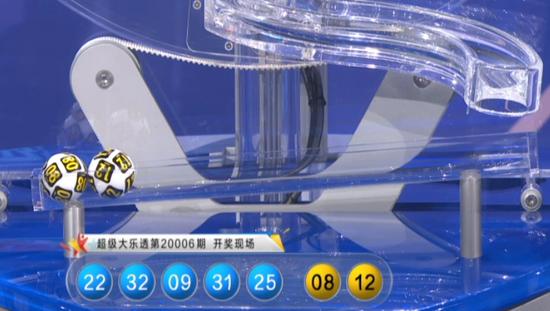 黄大仙大乐透第20007期:前区奇偶比2-3