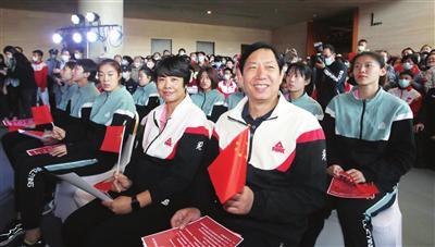 王宝泉:天女要向中国女排学习 传承发扬女排精力