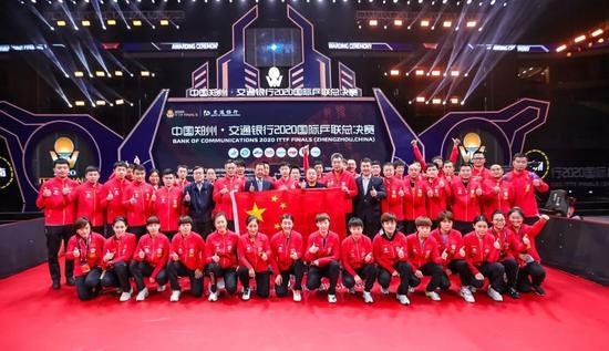 乒乓赛事在中国重启 国际社会感谢中国感谢中国人民