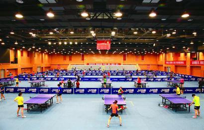中国乒乓球学院建院十年硕果累累教打球更教做人