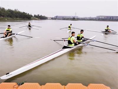 天津师大水上运动基地建成 具有24万平方米水域