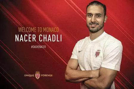 本赛季转会摩纳哥队的查德利