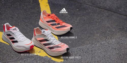 ADIZERO系列推出多款新跑鞋 期待缔造下一个纪录