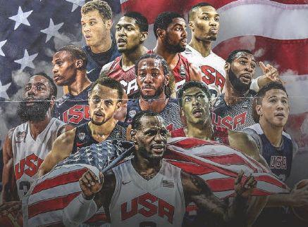 美國男籃奧運名單 44人大名單具體如下