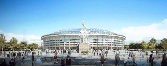 中国足协发布亚洲杯十座球场效果图 2022年12月完工