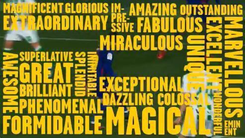 西甲官方25个形容词吹梅西:伟大的 现象级的……