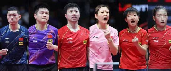 中国乒乓球队东京奥运会选手介绍:马龙长线 陈梦冠军荣耀在身