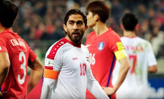 叙利亚球员作风坚固