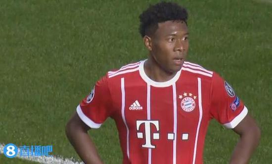 德媒:若阿拉巴想离队 拜仁愿8000万欧出售他