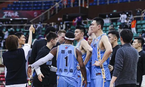 北京男篮惜败对手