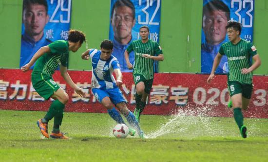 2014年,越秀山体育场,广州富力VS杭州绿城,哈默德。