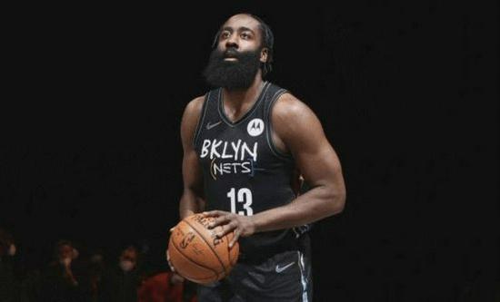 NBA左撇子球员常规赛得分最多Top5:哈登第1