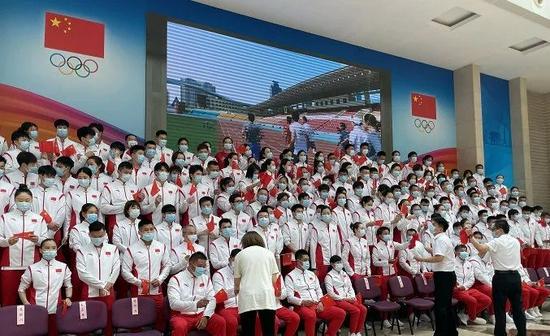 中国奥运天团成立 境外最大规模!阴盛阳衰创纪录