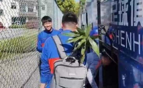 楊旭將富貴竹帶進蘇州市賽區 盼好運氣開啟進球賬戶