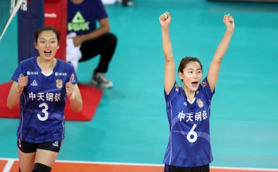全锦赛江苏女排3-0横扫 张常宁:打得还不可镇定 