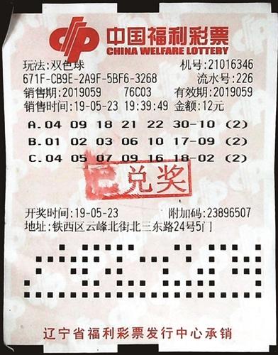 老彩民堅守20年終攬福彩32萬:彩票走到哪買到哪