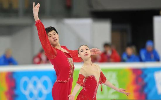 于幼雨/金杨在2012年冬青奥会