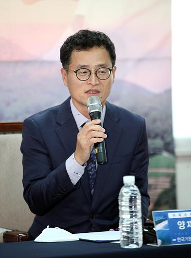韩国棋院事务总长梁宰豪