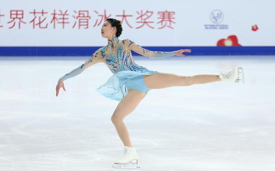 刷新3项个人纪录 北京姑娘陈虹伊首夺我国杯