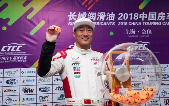 华夏赛车大奖赛:陈沪平排位夺杆