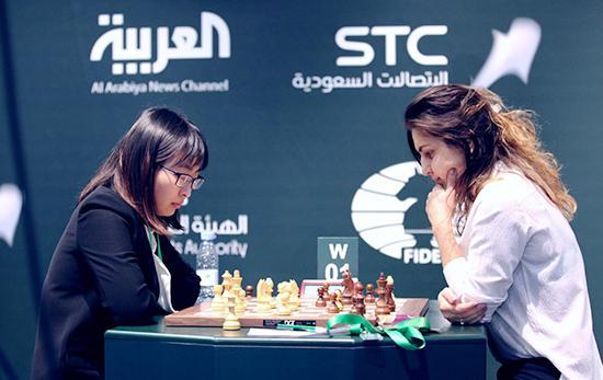 国象世界快棋锦标赛前5轮:居文君得分全场最高