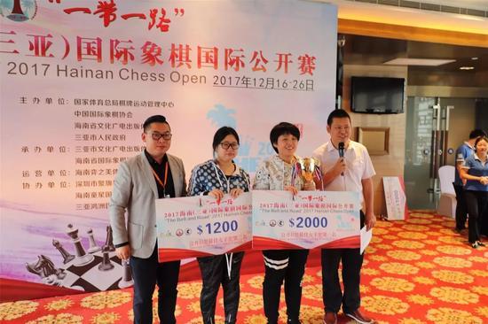 海南公开赛:周健超获A组冠军 张岚琳抢走B组头名