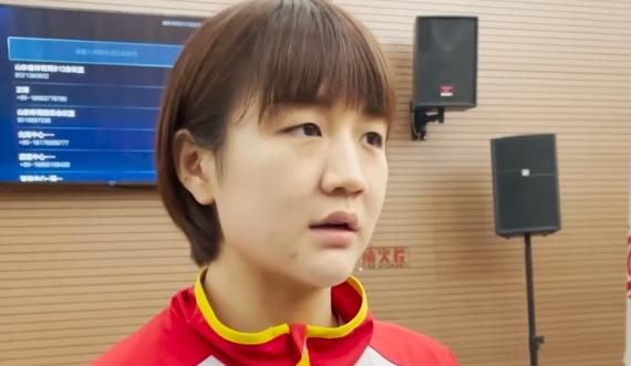 陈梦:奥运已经过去全运难打 向最好成绩发起冲击