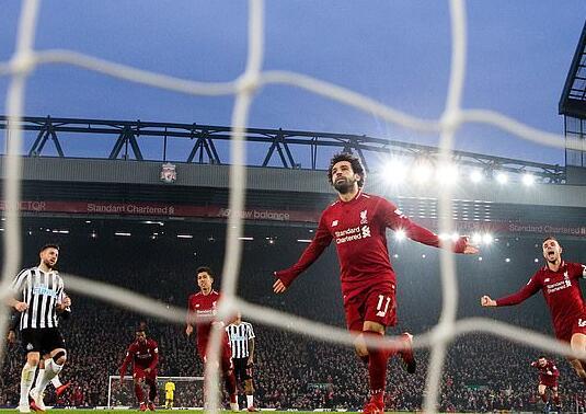 来到利物浦后,萨拉赫一跃成为世界顶尖选手