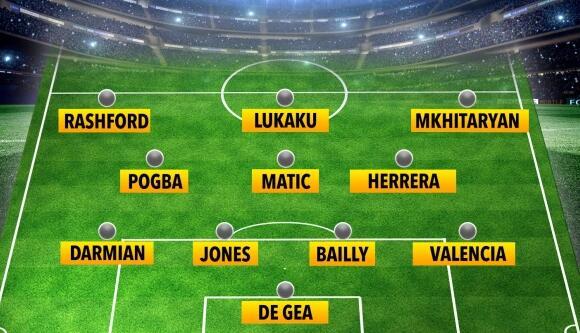 曼联上次英超榜首是什么阵容? 穆帅带这11人登顶