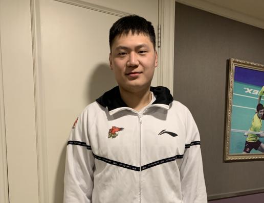青岛国信双星男篮副队长王庆明
