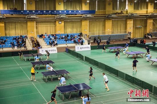 资料图 乒乓球比赛。 中新网记者 翟璐 摄