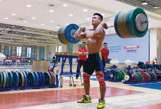 37岁吕小军领衔举重队奥运名单 石智勇李雯雯在列