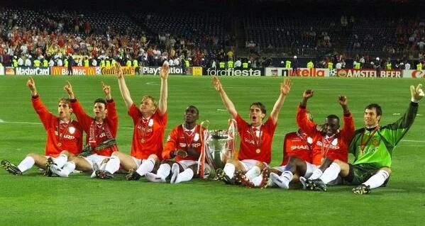 1999曼联三冠王