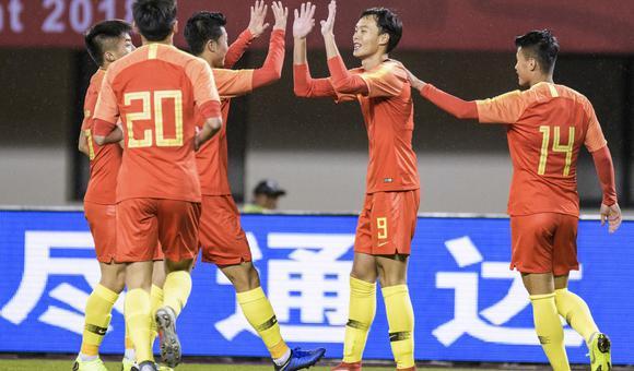 $[热身赛]中国U21国奥1-0泰国U21