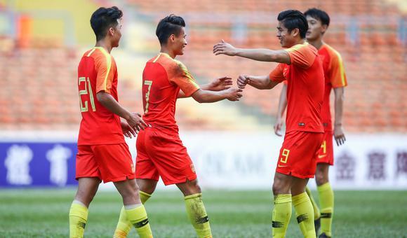 $张玉宁2助攻 国奥5-0老挝开门红