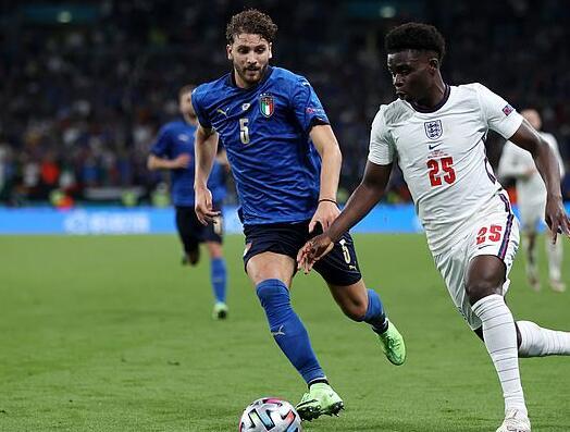 意大利欧洲杯国脚受争抢:阿森纳报4千万 尤文也想要