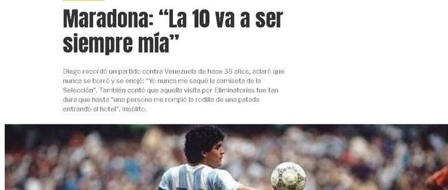 阿根廷10号永远是我
